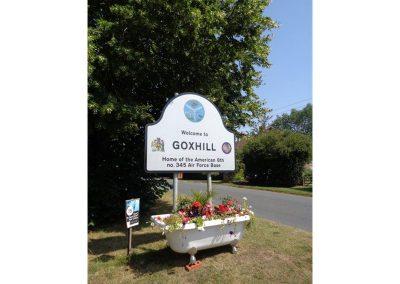 Goxhill Village Sign