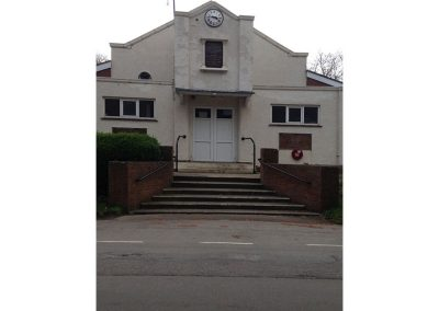 Goxhill Memorial Hall before the renovation