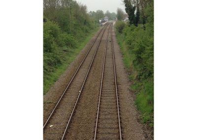Local rail tracks