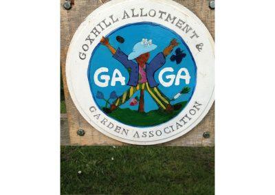 Goxhill Allotment & Garden Association sign